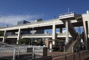 デューブリッジ歩道橋補修工事
