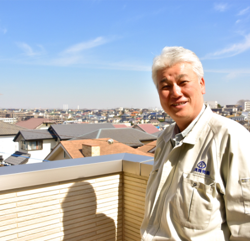 都筑開発株式会社 代表取締役 土志田 嗣朗