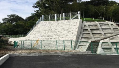 日吉特別緑地保全地区基盤整備工事の様子